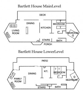 Floor Plan Bartlett House