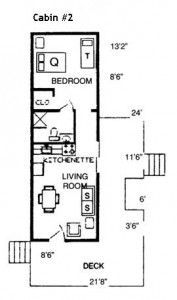 one bedroom cabin floor plans cabin 2 hickory hollow resort 25321