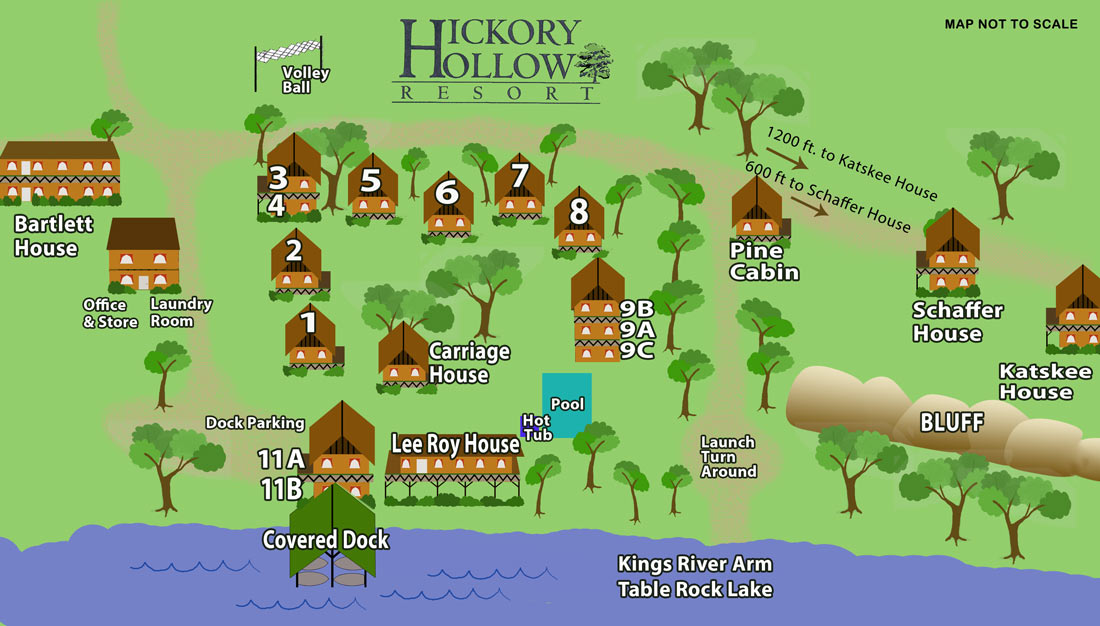 Resort Info Hickory Hollow Resort Table Rock Lake Shell